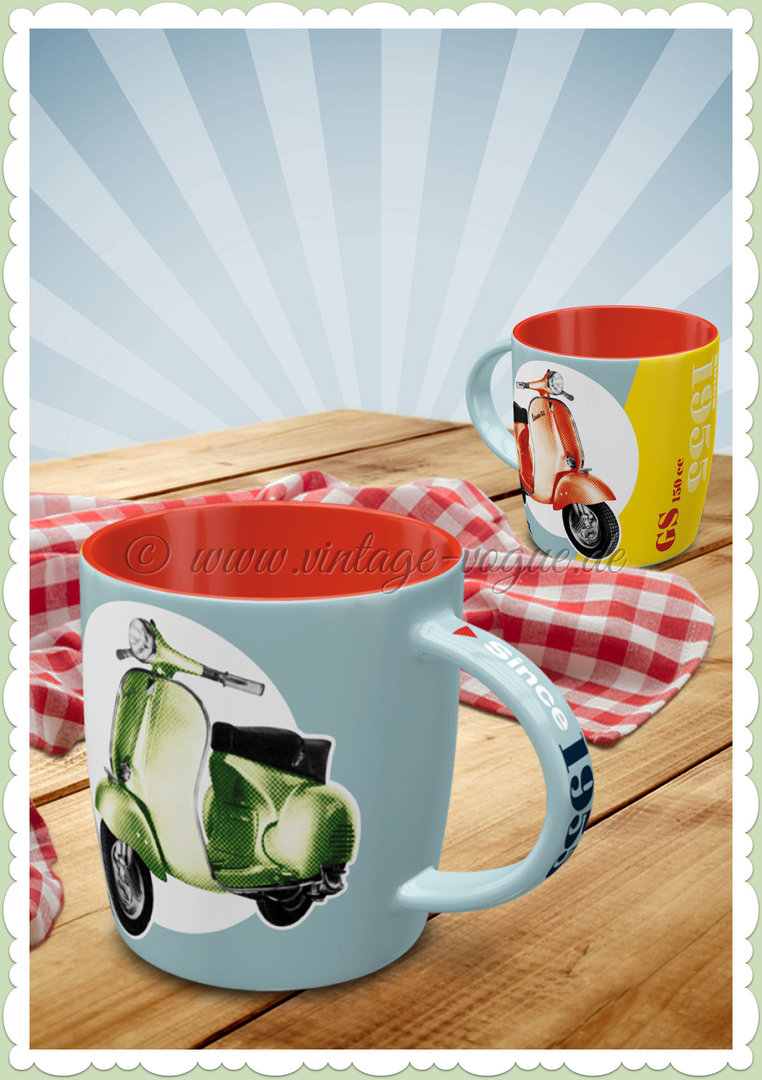 "Nostalgic Art Retro Vespa Tasse ""GS 150 Since 1955"""