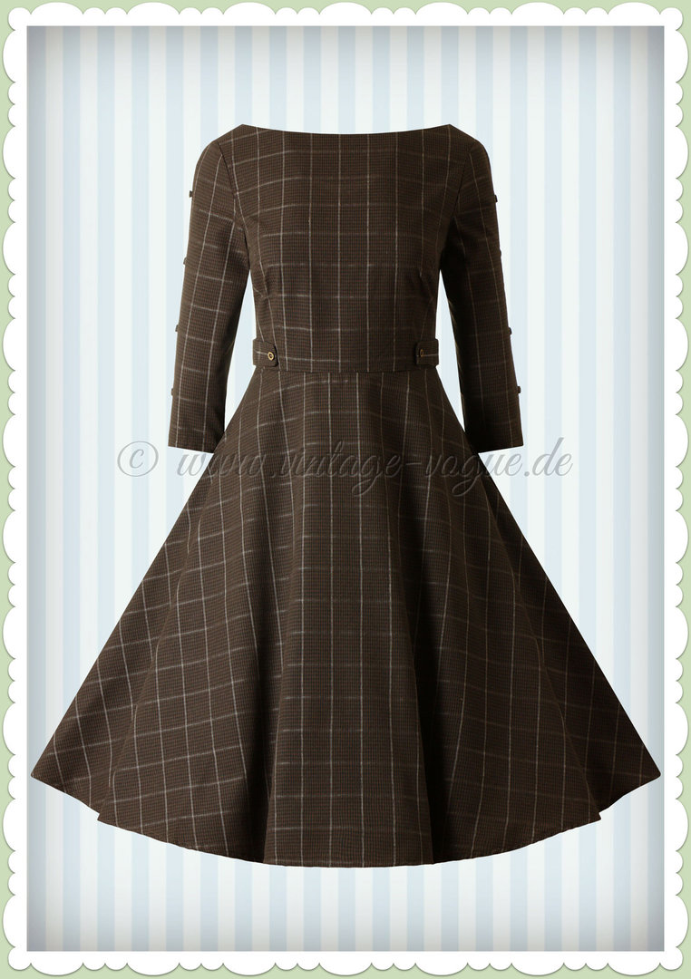 ♥ A-Linie & Swing Kleider ♥ www.vintage-vogue.de