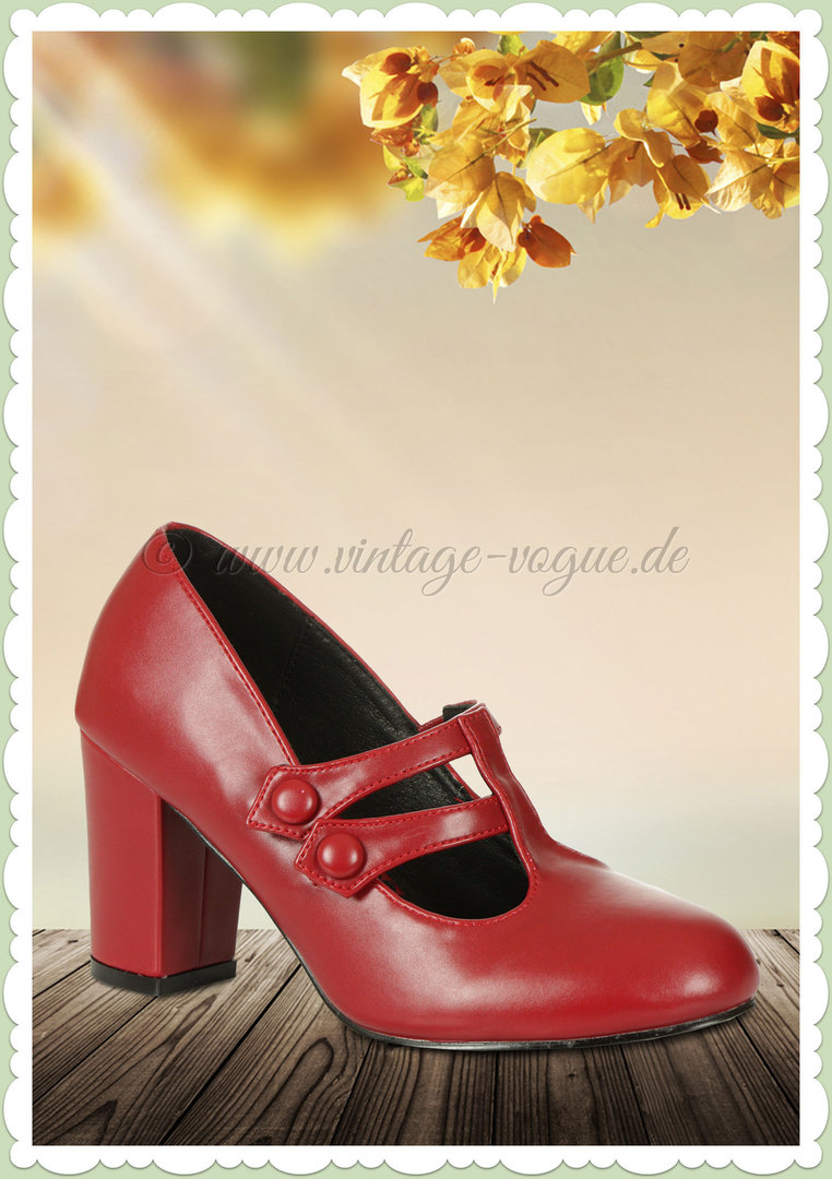 Banned Schuhe ♥ Vintage & Rockabilly Pumps ♥ Onlineshop