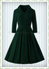 Hearts & Roses 50er Jahre Rockabilly Swing Kleid - Gabrilla - Emerald