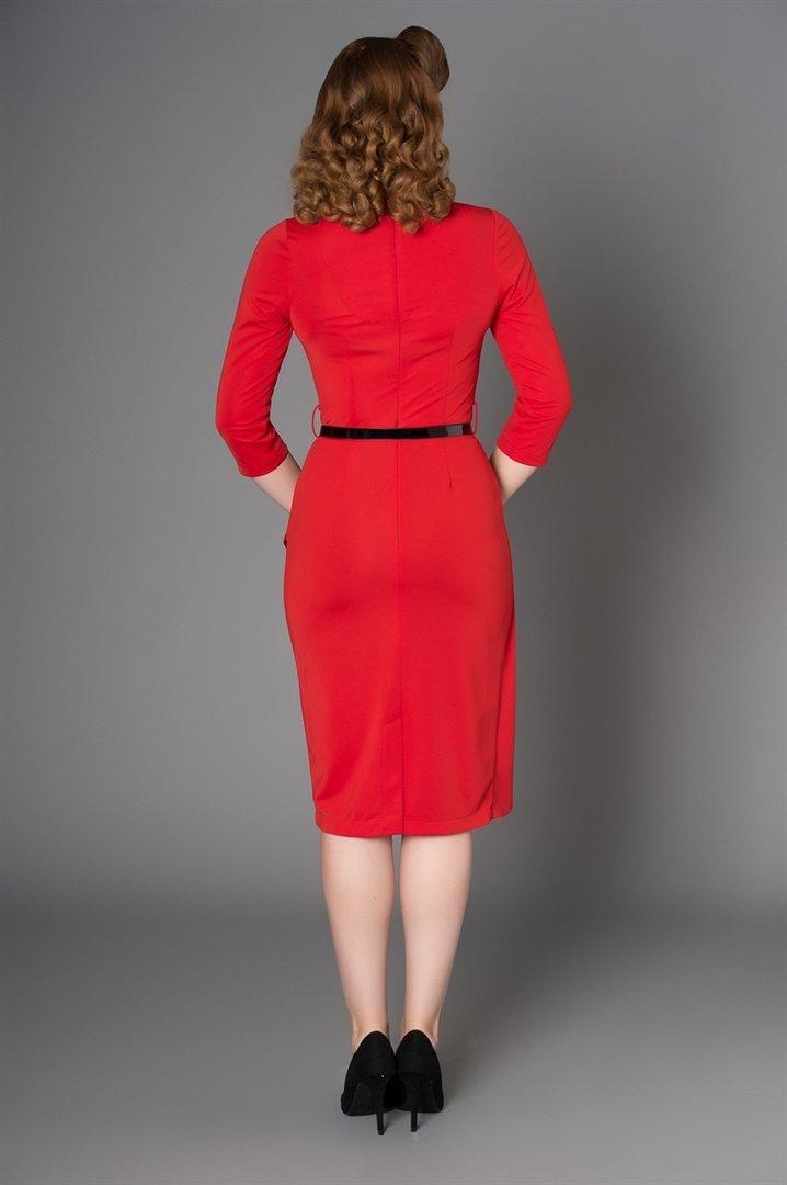 Timeless London 40er Jahre Vintage Volant Etui Kleid ...