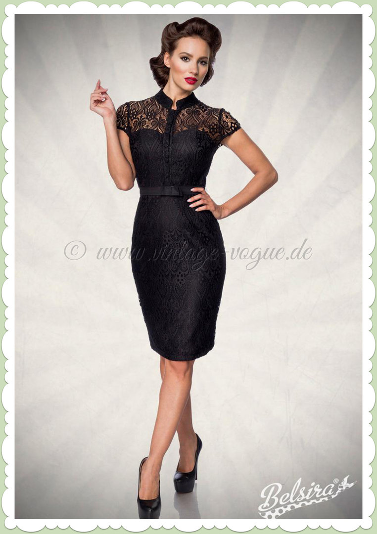 Spitze mit schwarzes abendkleid sam.leonardjoel.com.au :