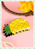 Banned 50s Pin Up Rockabilly Retro Ananas Haarclip Haarspange - Gelb
